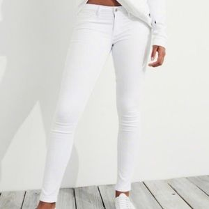 HOLLISTER WHITE SKINNY